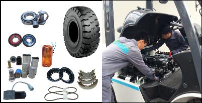 Sửa chữa xe nâng khu vực Đà Nẵng